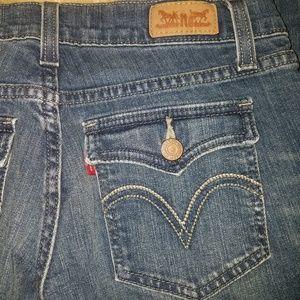 Levis 524 Superlow Jeans